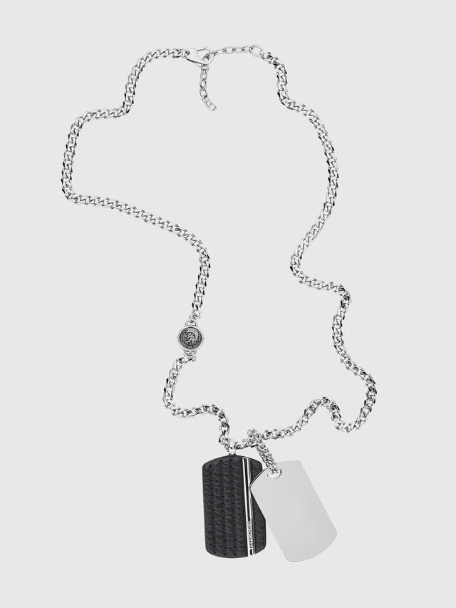 NECKLACE DX1040, Silver