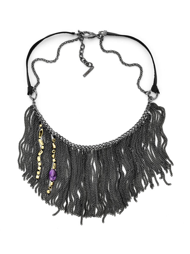 NECKLACE DX0786, Silver
