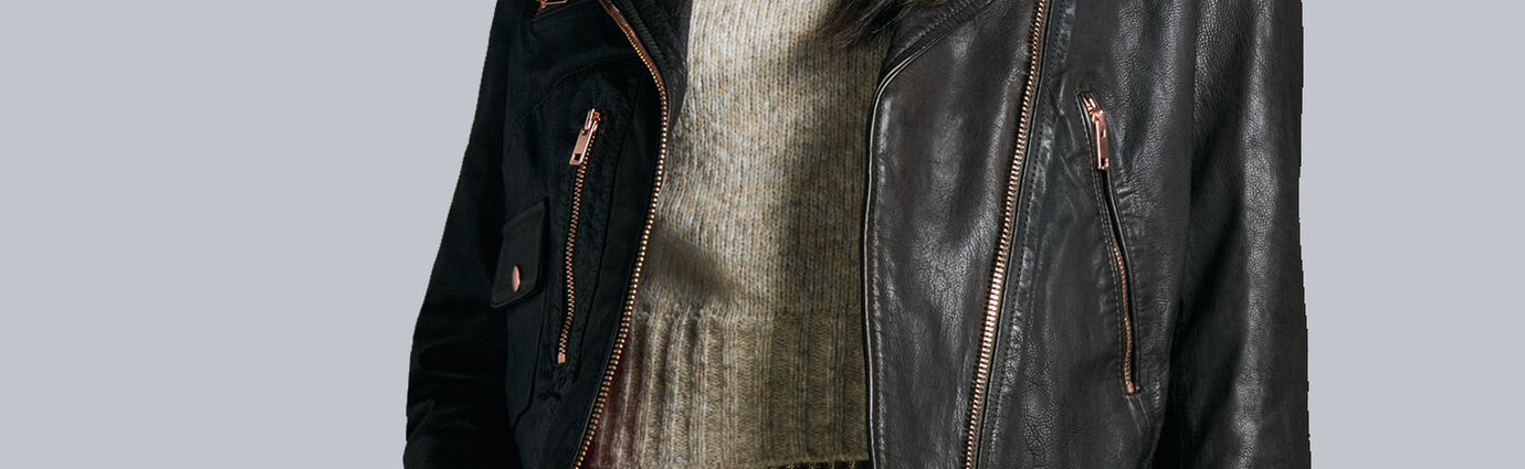 Leather Jackets Woman | Diesel Online Store USA