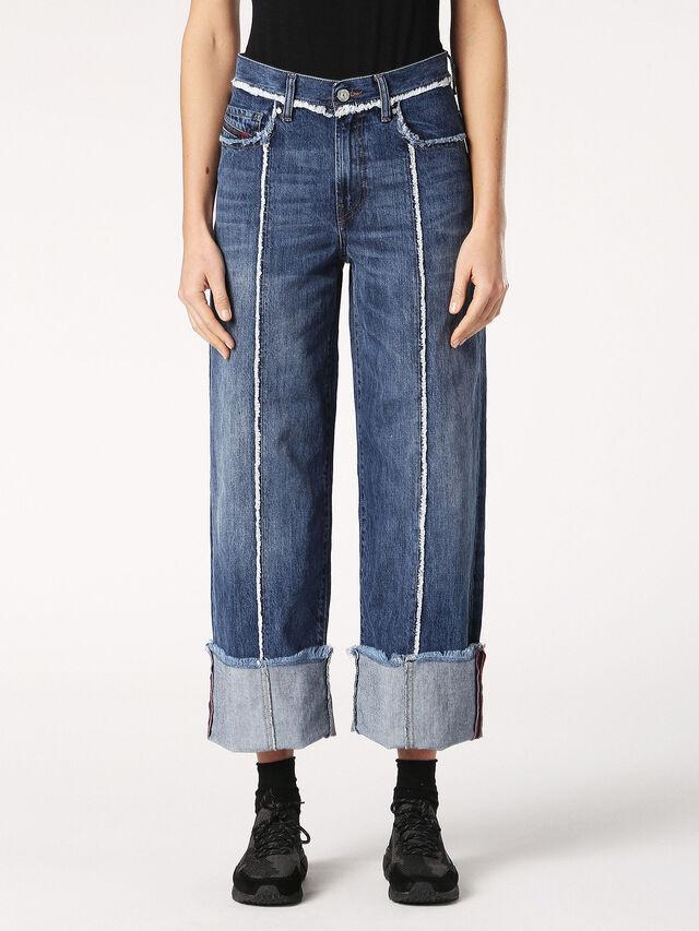 Diesel - Widee 084TE, Blue Jeans - Jeans - Image 2