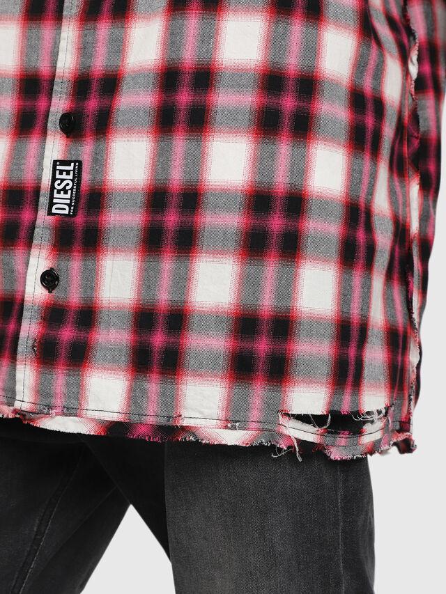 Diesel - S-MACHITO, Pink/White - Shirts - Image 3