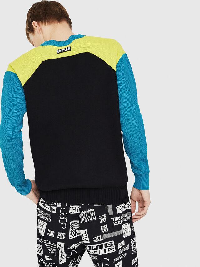 Diesel - K-MELT, Azure - Sweaters - Image 2