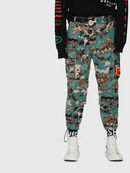 P-LUZA-CAMOU, Green Camouflage - Pants