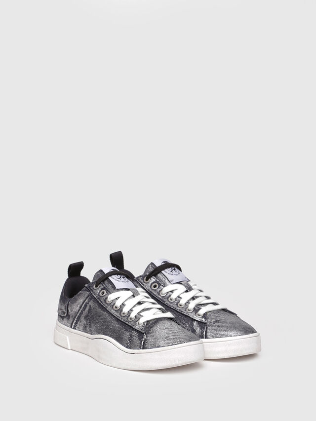 Diesel - S-CLEVER LOW W, Grey Jeans - Sneakers - Image 2