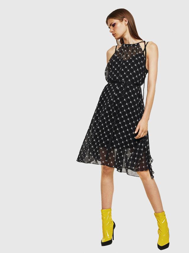 Diesel - D-YING, Black - Dresses - Image 1