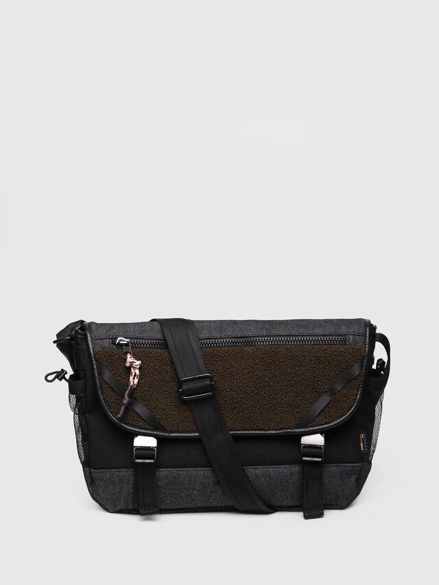 Diesel - F-URBHANITY MESSENGE, Black/Brown - Briefcases - Image 1