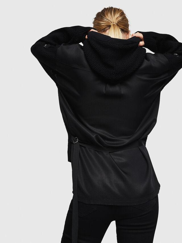 Diesel - M-MILY, Black - Sweaters - Image 2