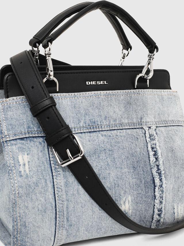 Diesel - BADIA, Grey Jeans - Satchels and Handbags - Image 4