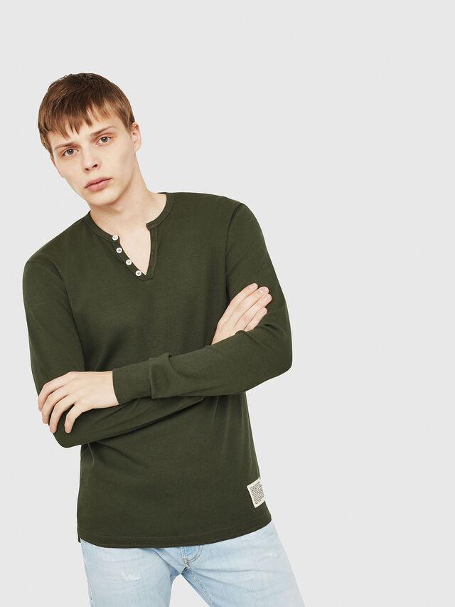 Diesel - T-YOICHIROKI, Dark Green - T-Shirts - Image 1