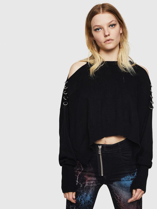 Diesel - M-NETTY, Black - Sweaters - Image 1