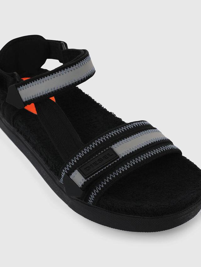 Diesel - SA-GRAND LC, Black/Grey - Sandals - Image 4
