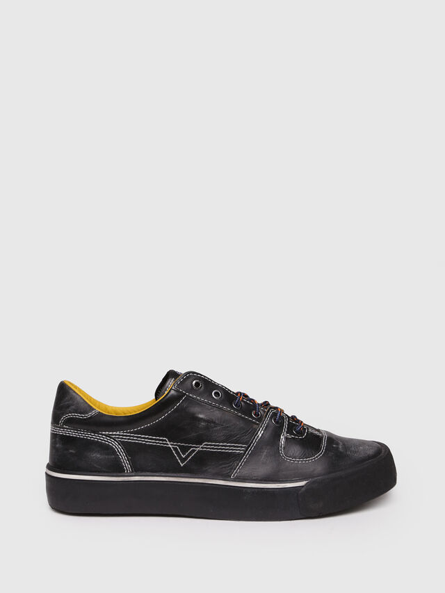 Diesel - S-FLIP LOW, Black - Sneakers - Image 1