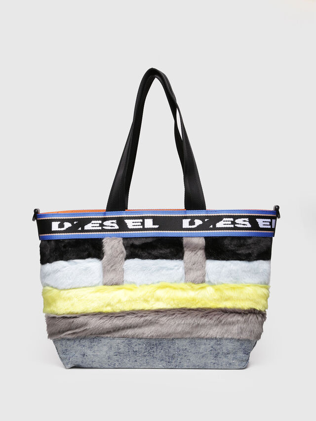 Diesel - ARAJUKU SHOPPER M, Multicolor - Shopping and Shoulder Bags - Image 2