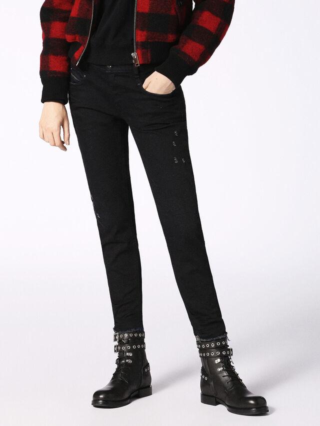 Diesel - Belthy 084JS, Black/Dark Grey - Jeans - Image 1