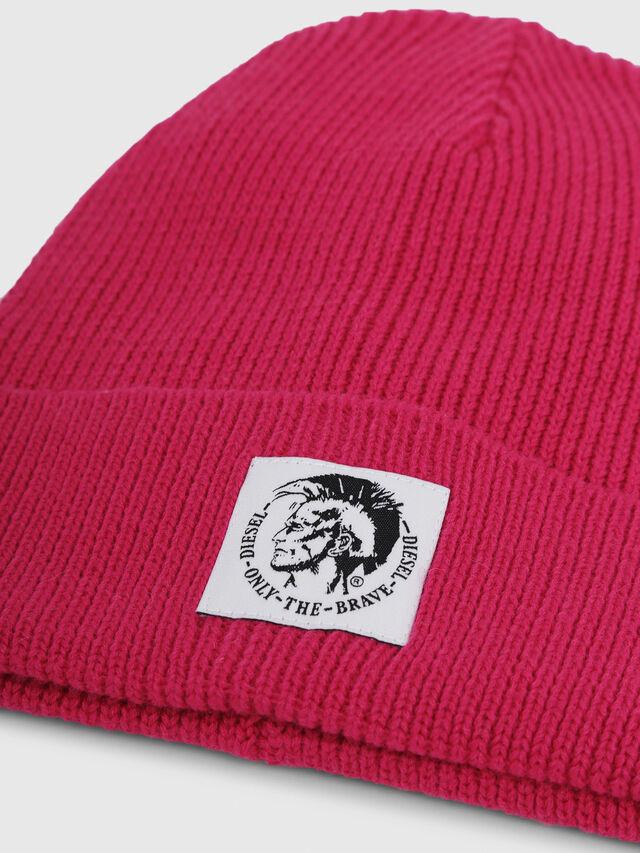 Diesel - K-CODER, Hot pink - Caps, Hats and Gloves - Image 3