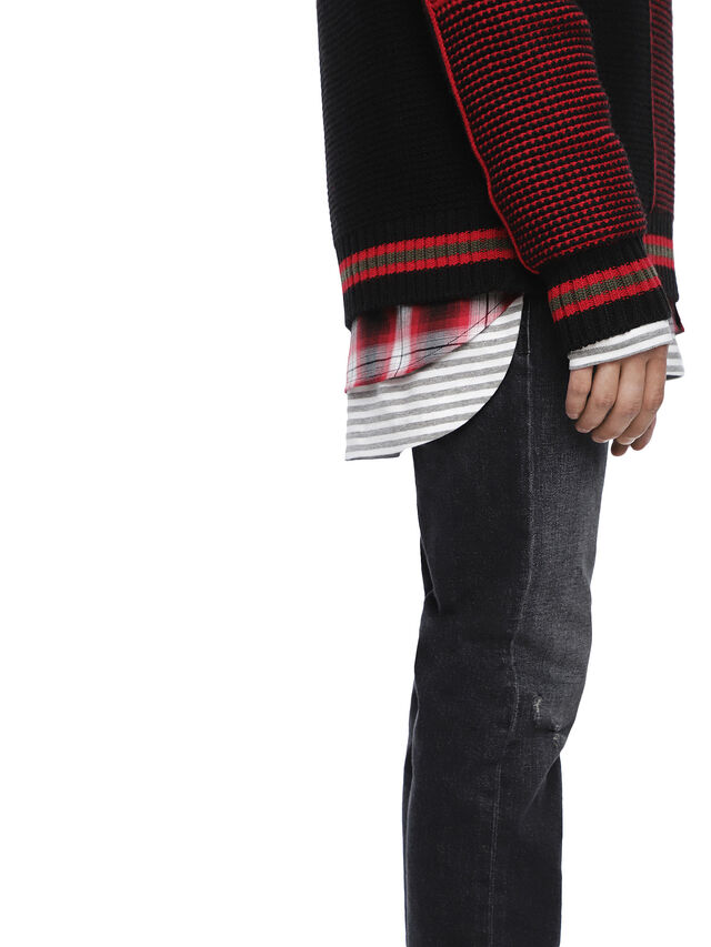 Diesel - KILTY, Red/Black - Sweaters - Image 7