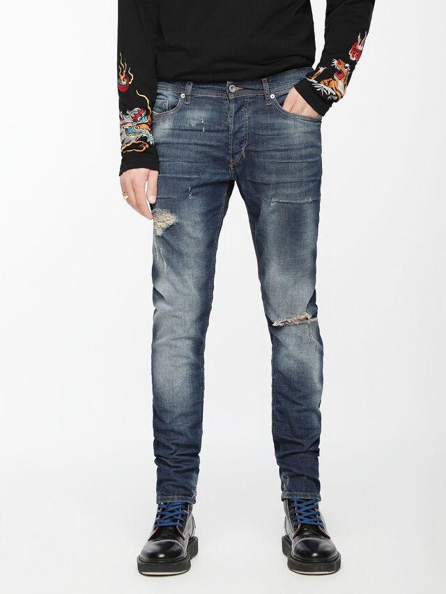 Diesel - Tepphar 084TX, Medium Blue - Jeans - Image 2