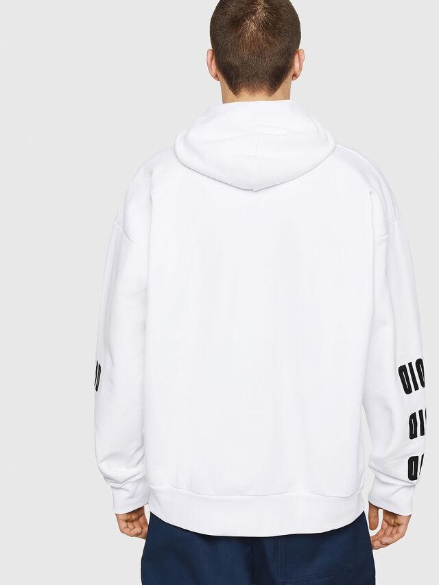 Diesel - S-ALBY-A1, White - Sweatshirts - Image 2