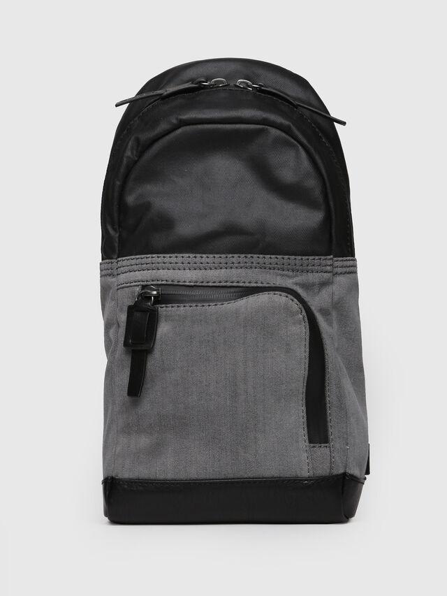 Diesel - D-MASTER MONO, Grey - Backpacks - Image 1