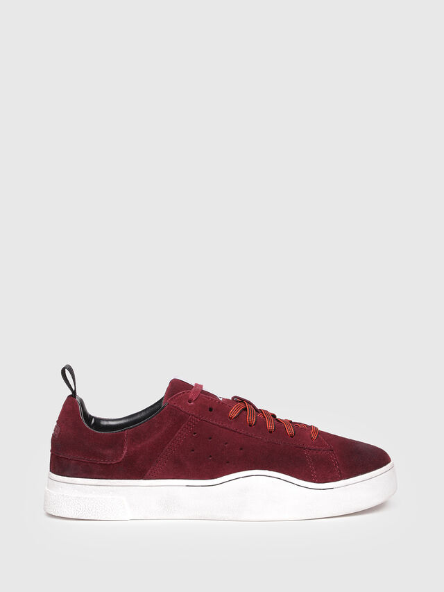 Diesel - S-CLEVER LOW, Red Wine - Sneakers - Image 1