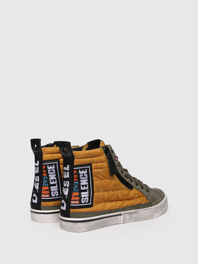 Diesel - D-VELOWS MID PATCH, Yellow - Sneakers - Image 2
