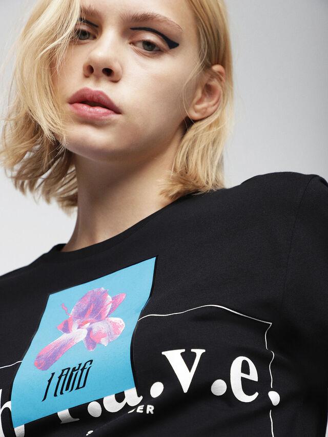 Diesel - T-GODIE, Black - T-Shirts - Image 3
