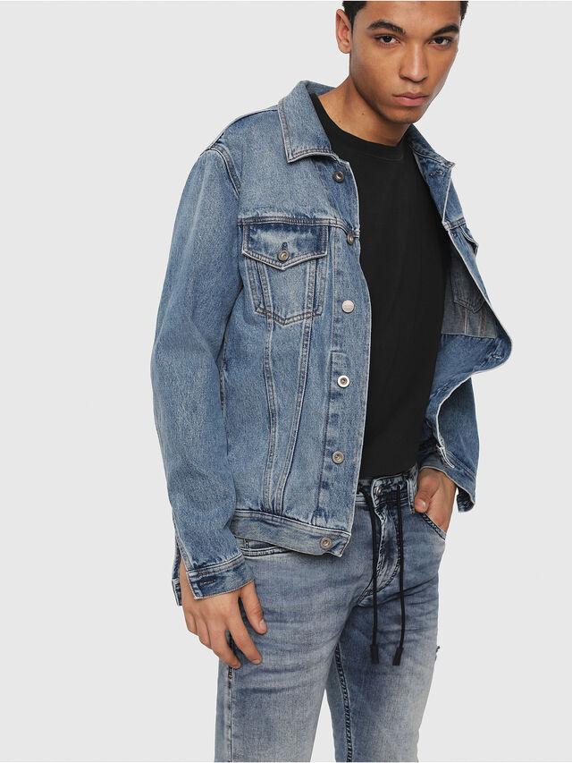 Diesel - Thommer JoggJeans 069FC, Light Blue - Jeans - Image 3