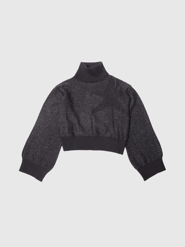 Diesel - KJSTELLAR, Black - Sweaters - Image 1