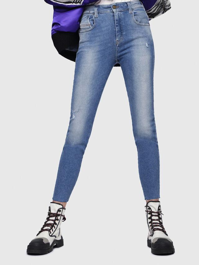 Diesel - Slandy High 086AB, Medium Blue - Jeans - Image 1