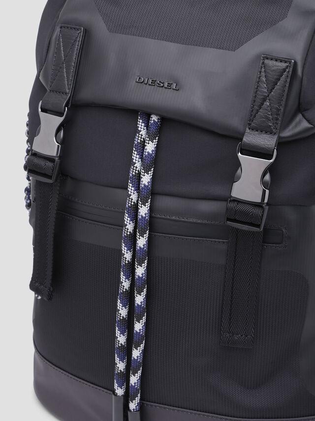 Diesel - SUSE BACK, Black - Backpacks - Image 5