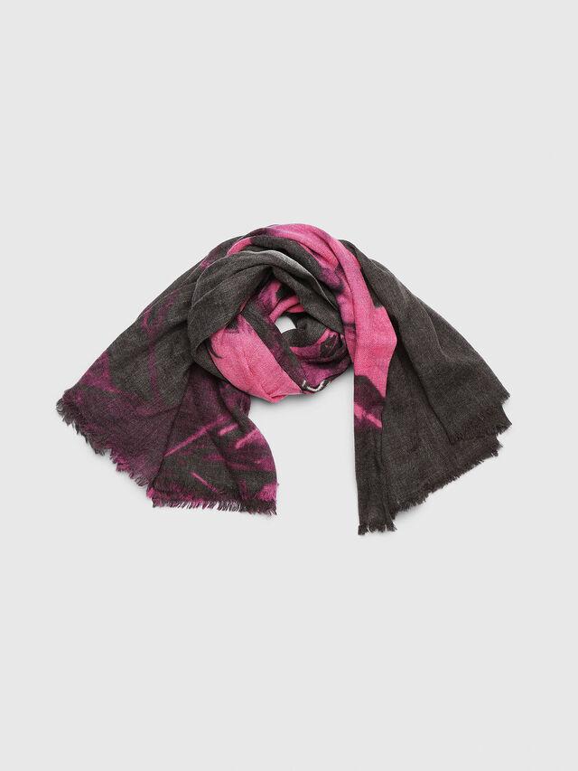 Diesel - SFLAB, Black/Pink - Scarves - Image 1