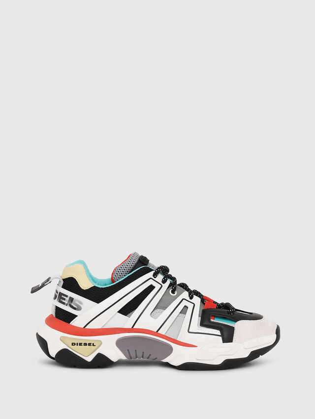Diesel - S-KIPPER LOW TREK, White - Sneakers - Image 1