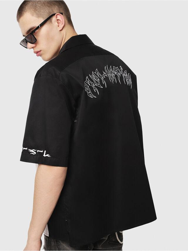 Diesel - S-KINGI, Black/White - Shirts - Image 2