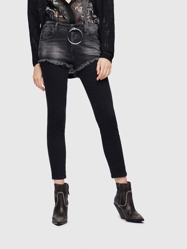 Diesel - Babhila 089AD, Black/Dark Grey - Jeans - Image 1