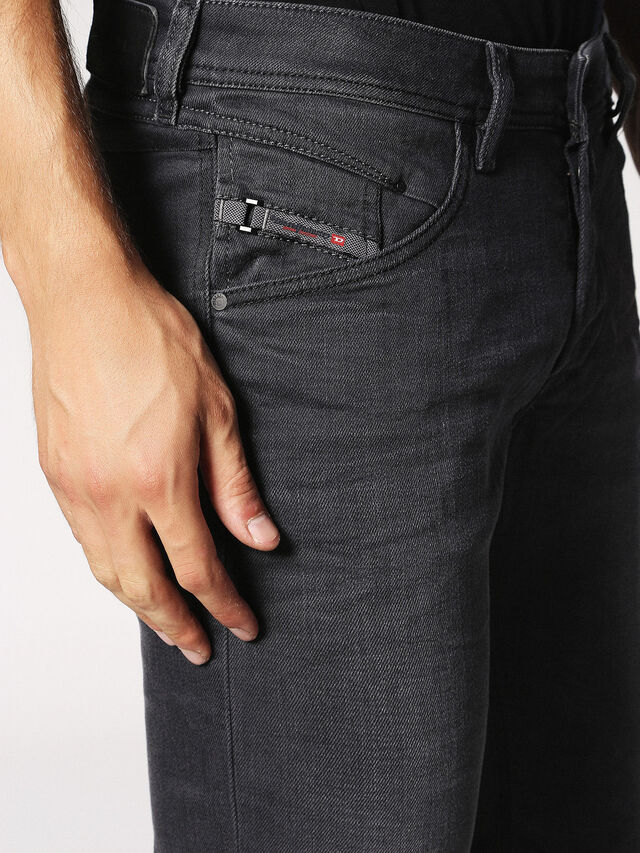 Diesel - BELTHER 0859X, Grey jeans - Jeans - Image 4