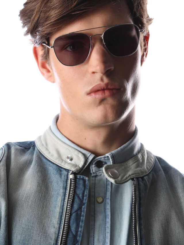 Diesel - DM0194, Silver - Sunglasses - Image 5