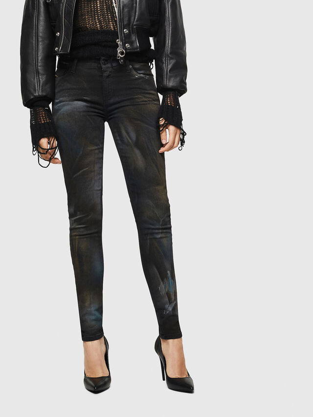 Diesel - Slandy 069IV, Black/Dark Grey - Jeans - Image 1