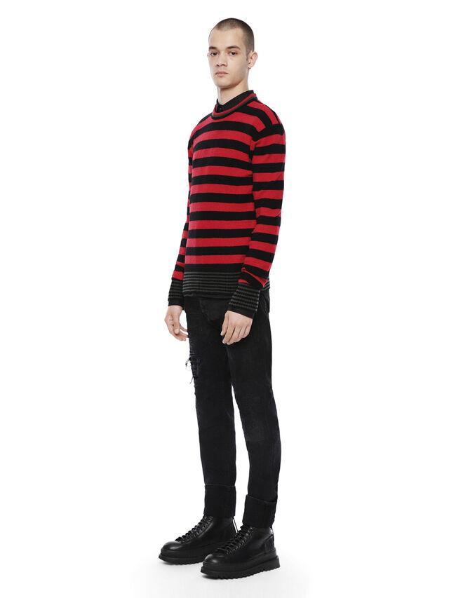 Diesel - KARCE, Red - Sweaters - Image 4