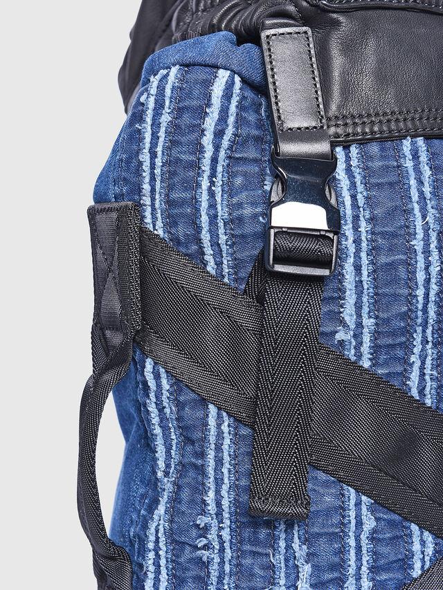 Diesel - D-HENJUKU BACK, Blue Jeans - Backpacks - Image 4