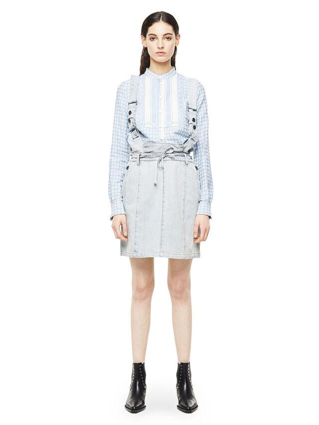 Diesel - ANNETTE, Light Blue - Skirts - Image 1