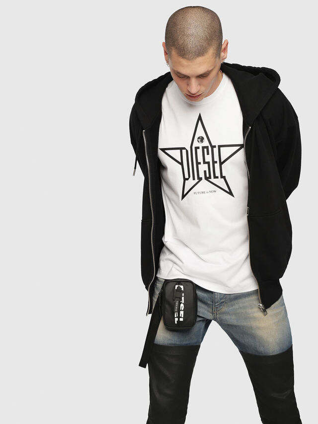 Diesel - T-DIEGO-YH, White - T-Shirts - Image 3