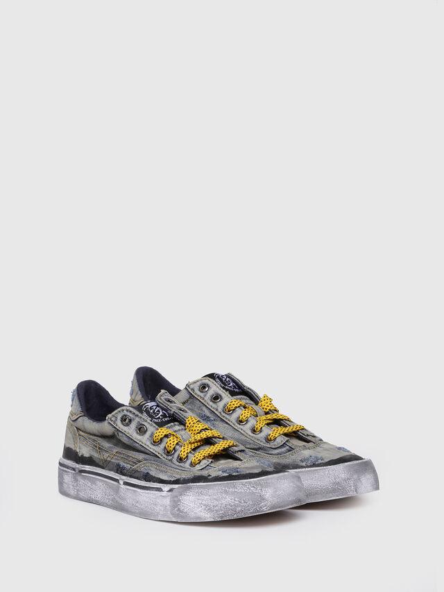 Diesel - S-FLIP LOW W, Blue Jeans - Sneakers - Image 3