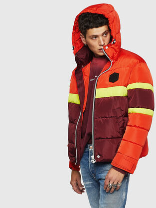 d56709f43ab Mens Jackets: denim, leather | Diesel Online Store