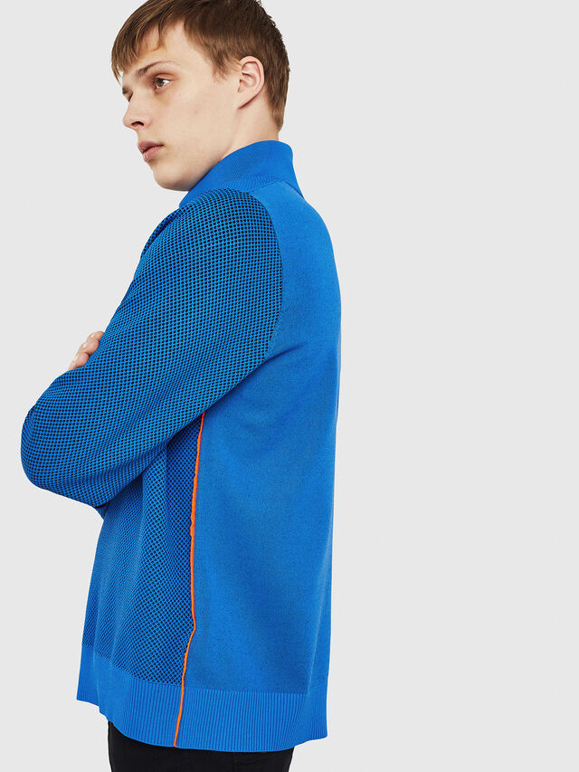 Diesel - K-TRAFFIC, Brilliant Blue - Sweaters - Image 5