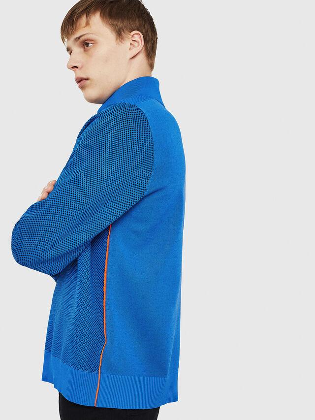 Diesel - K-TRAFFIC, Brilliant Blue - Sweaters - Image 5