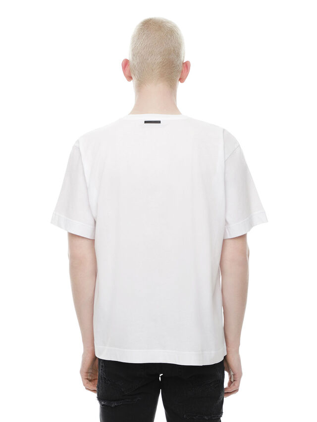 Diesel - TEORIAL-HUNTING, White - T-Shirts - Image 2