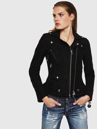 d63da64cb5f Womens Jackets: blazer, bombers | Diesel Online Store