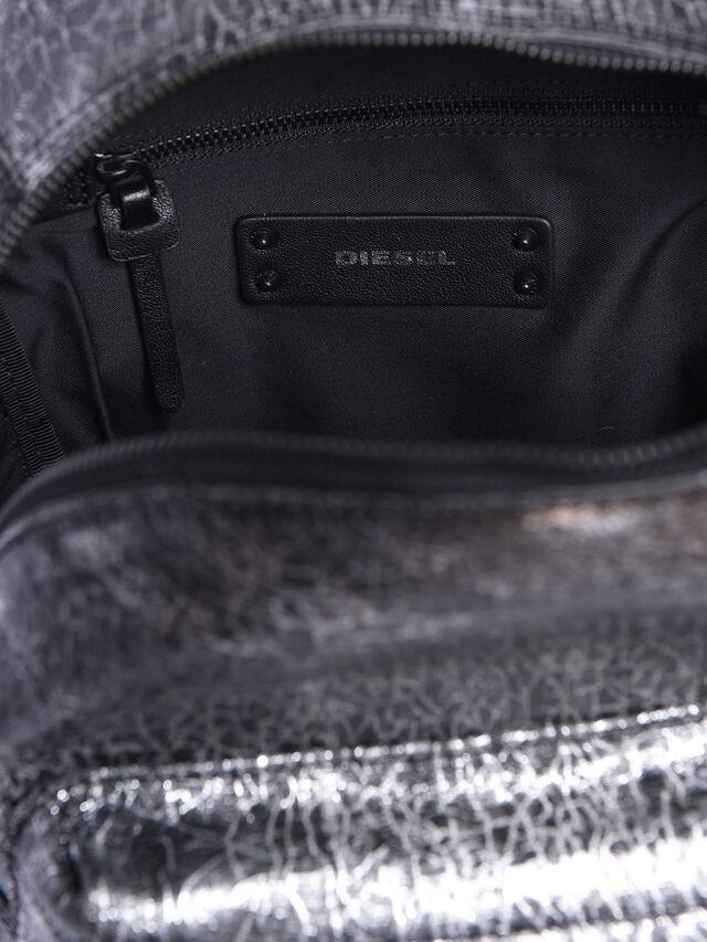 Diesel - LE-ONY, Silver - Backpacks - Image 3