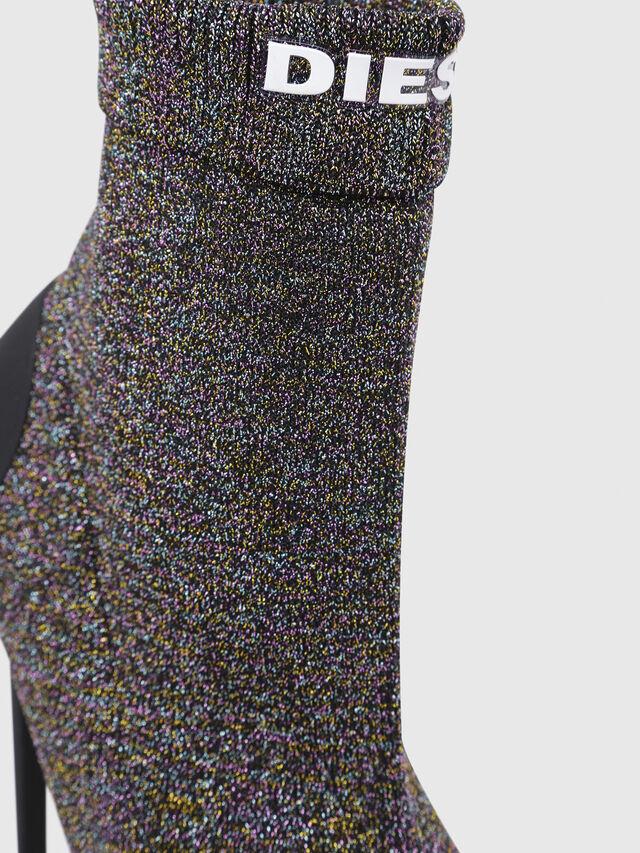 Diesel - D-SLANTY HASM, Multicolor/Black - Boots - Image 4
