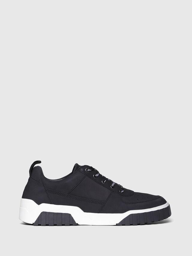 Diesel - S-RUA LC, Black - Sneakers - Image 1